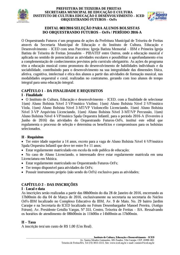 Edital para Concurso de Bolsistas OrFs 2016-A (página 01)