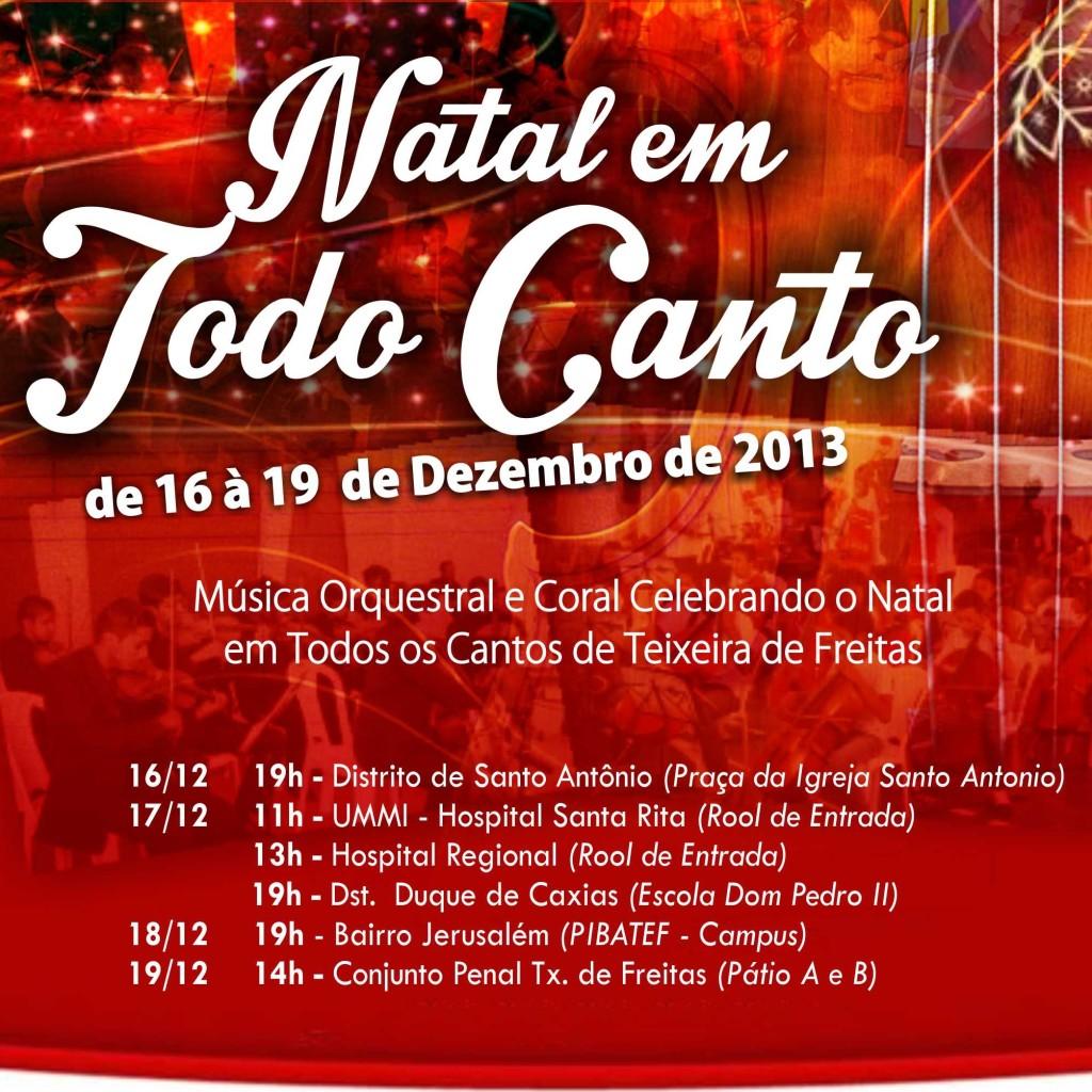 Natal em Todo Canto 2013